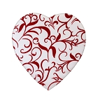 Heart Box, Georgianna, 8 oz., QTY/CASE-12