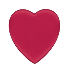 Heart Shaped Candy Box, Satin Doll, Red, 8 oz., QTY/CASE-24