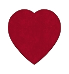 Heart Box, Truffle Depth, Velvet, 8 oz., QTY/CASE-12