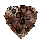 Heart Shaped Candy Box, Wild, 8 oz., QTY/CASE-12