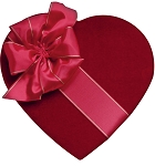 Heart Box, Couture, 2 to 2-1/2 lb., QTY/CASE-2