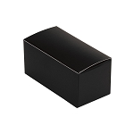 Anytime Favor Box, 2-Piece, Black, 2-3/4 x 1 x 1-1/4