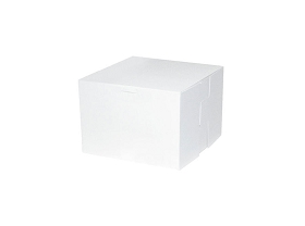Bakery Box, White, 5 x 4 x 4