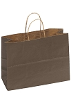 Kraft Bag, Chocolate Natural, 16 in.x 6 in.x 12