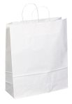 Kraft Bag, White, 16