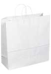 Kraft Bag, White, 18