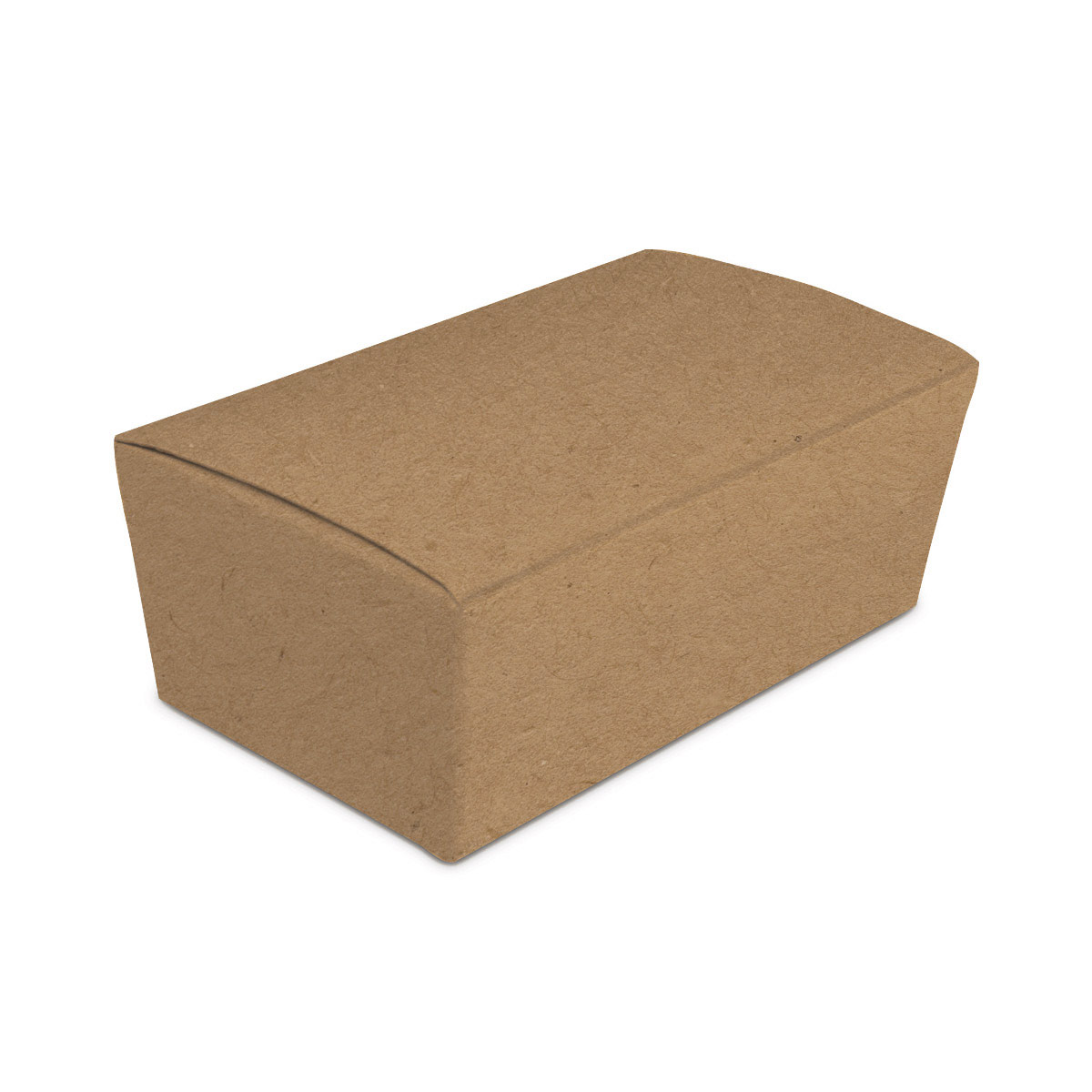 da9fccdcadc89 Folding Carton, Favor Box, Tapered 2-Piece, Kraft, QTY/CASE-50