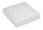 This Top - That Bottom, Lid, Square, White, 5-1/2 x 2-1/2 x 1-1/8