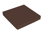 Folding Carton, This Top - That Bottom, Lid, 16 oz., Square, Brown, QTY/CASE-50