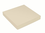Folding Carton, This Top - That Bottom, Lid, 16 oz., Square, Pearlescent, QTY/CASE-50