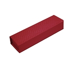 Rigid Set-Up Box, Magnetic Charm Box, 5-Piece, 5th Ave. Red, QTY/CASE-12