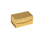 Rigid Set-Up Box, Magnetic Charm Box, 2-Piece, Gold, QTY/CASE-24