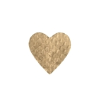 Padding, Heart, Gold, 2 oz., 3 x 3-1/3