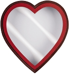Heart Shaped Candy Box, Window, Coco Passion, 1 lb., QTY/CASE-12