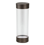 Clear Plastic Packaging, Cylinder, Deco Bronze, Large, QTY/CASE-24