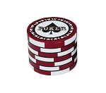 Rigid Set-up Box, Gift Box, Poker Chip, Black, QTY/CASE-12