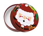 Rigid Set-up Box, Santa Claus, Round, QTY/CASE-12