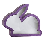 Rigid Set-up Box, Window Box, Purple Bunny Box , QTY/CASE-12
