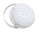 Rigid Set-up Box, All Star Sports, Golf Ball, QTY/CASE-6