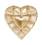 Heart Tray, Plastic, Gold, 8 oz., 12 Cavity, 5-3/4 x 6 x 1