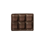 Tray, Rectangle, Brown, 4 oz., 6 Cavity, 4-1/2 x 3-1/4 x 1