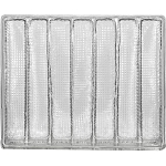 Tray, Bulk-Pack, Rectangle, Clear, 7 Cavity, QTY/CASE-50