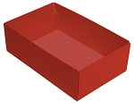 This Top - That Bottom, Base, Rectangle, Soft Touch Red, Double-Layer, 7 x 4-1/2 x 2-1/4