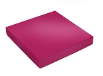Folding Carton, This Top - That Bottom, Lid, 16 oz., Square, Hot Pink, QTY/CASE-50