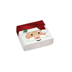 Jolly Santa, Decorative Gift Box, 3-1/2 x 3-1/2 x 1-1/8