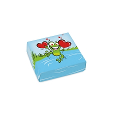 Leaping Frog, Decorative Gift Box, 3-1/2 x 3-1/2 x 1-1/8