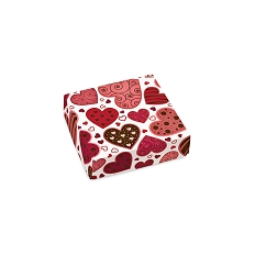Lotta Love, Decorative Gift Box, 3-1/2 x 3-1/2 x 1-1/8