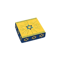 Mazel Tov, Decorative Gift Box, 3-1/2 x 3-1/2 x 1-1/8