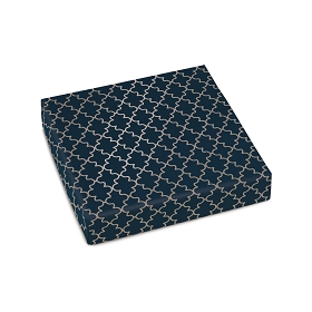Navy Elegance, Decorative Gift Box, 5-1/2 x 5-1/2 x 1
