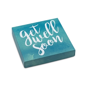 Get Well Soon, Decorative Gift Box, 5-1/2 x 5-1/2 x 1