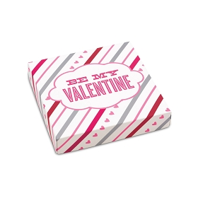 Be My Valentine box, Decorative Gift Box, 5-1/2 x 5-1/2 x 1