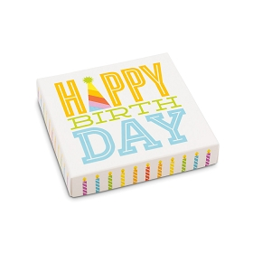 Happy Birthday, Decorative Gift Box, 5-1/2 x 5-1/2 x 1