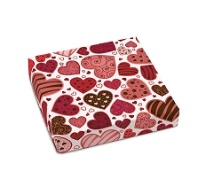 Lotta Love, Decorative Gift Box, 5-1/2 x 5-1/2 x 1-1/8
