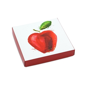 Apple-A-Day, Decorative Gift Box, 5-1/2 x 5-1/2 x 1