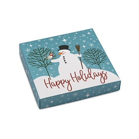 Snow Friends, Decorative Gift Box, 5-1/2 x 5-1/2 x 1