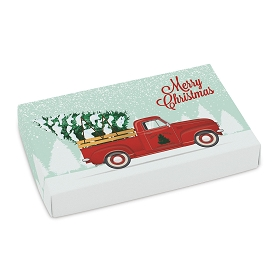 Red Truck, Decorative Gift Box, 7 x 4-1/2 x 1