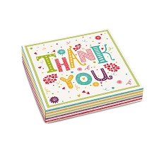 Thank You, Decorative Gift Box, 5-1/2 x 5-1/2 x 1-1/8