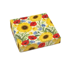 Summer Bouquet, Decorative Gift Box, 5-1/2 x 5-1/2 x 1-1/8