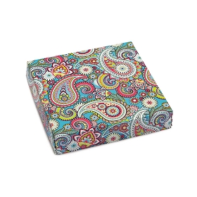 Bright Paisley, Decorative Gift Box, 5-1/2 x 5-1/2 x 1
