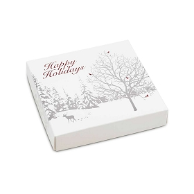 Winter Enchantment, Decorative Gift Box, 5-1/2 x 5-1/2 x 1