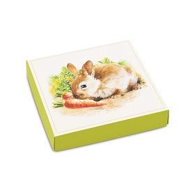 Easter Garden, Decorative Gift Box, 5-1/2 x 5-1/2 x 1