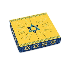 Mazel Tov, Decorative Gift Box, 5-1/2 x 5-1/2 x 1-1/8
