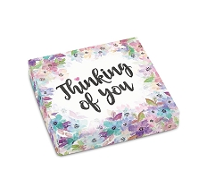 Thinking of You, Decorative Gift Box, 5-1/2 x 5-1/2 x 1-1/8