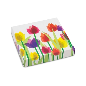 Spring Tulips, Decorative Gift Box, 5-1/2 x 5-1/2 x 1