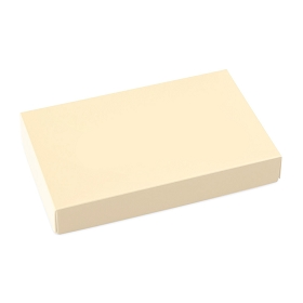 This Top - That Bottom, Lid, Rectangle, Cream, 7 x 4-1/2 x 1