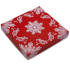 Frost, Decorative Gift Box, 7-1/2 x 7-1/2 x 1